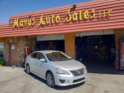 2014 Nissan Sentra for sale at Marys Auto Sales in Phoenix AZ