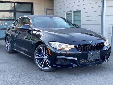 2015 BMW 4 Series for sale at Lux Motors in Tacoma WA