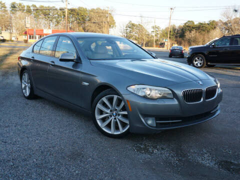 2011 BMW 5 Series for sale at Auto Mart in Kannapolis NC