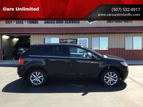 2013 Ford Edge for sale at Cars Unlimited in Marshall MN