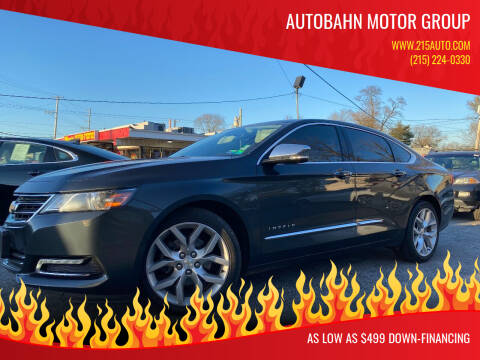 2018 Chevrolet Impala for sale at Autobahn Motor Group in Willow Grove PA