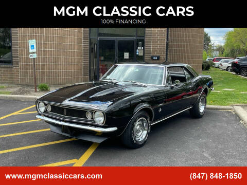 1967 Chevrolet Camaro for sale at MGM CLASSIC CARS in Addison, IL
