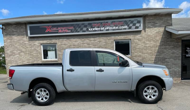 2005 Nissan Titan for sale at Xcelerator Auto LLC in Indiana PA