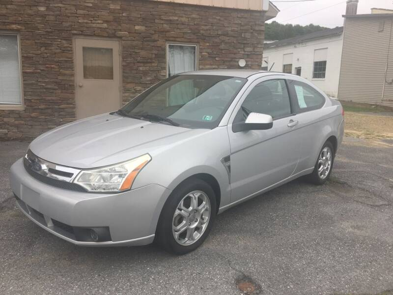 2008 Ford Focus for sale at K B Motors in Clearfield PA