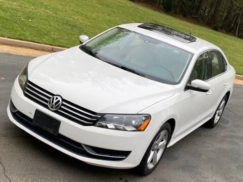 2013 Volkswagen Passat for sale at Top Notch Luxury Motors in Decatur GA