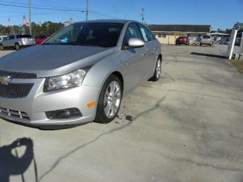 2013 Chevrolet Cruze for sale at VANN'S AUTO MART in Jesup GA