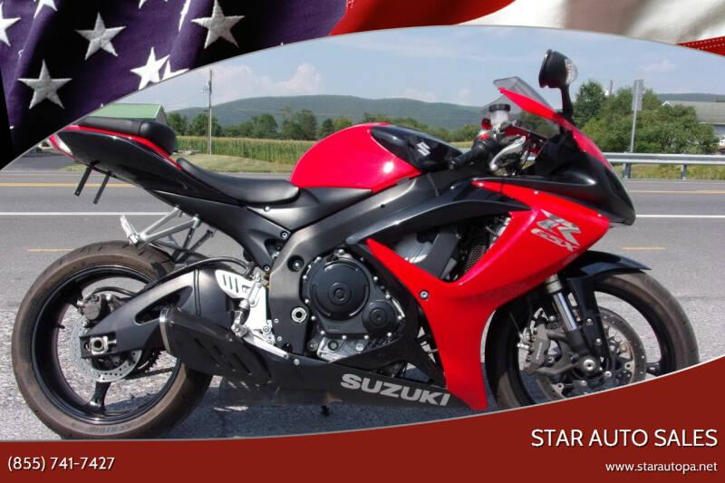 2007 Suzuki GSX-R600 for sale at Star Auto Sales in Fayetteville PA