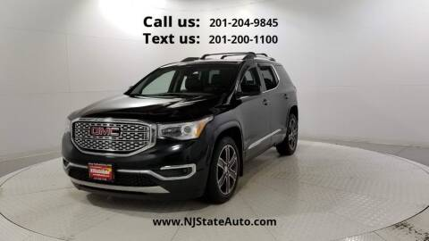 2017 GMC Acadia for sale at NJ State Auto Used Cars in Jersey City NJ