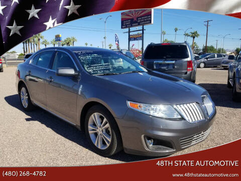 2011 Lincoln MKS for sale at 48TH STATE AUTOMOTIVE in Mesa AZ