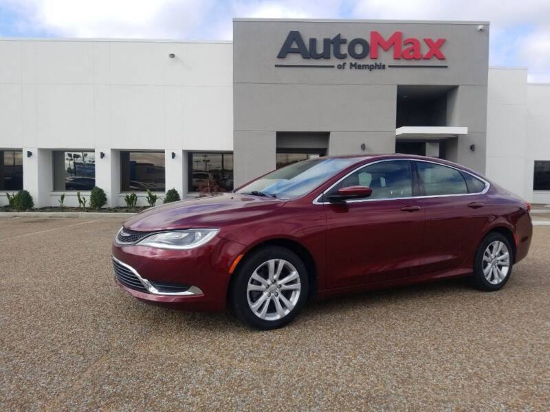 2015 Chrysler 200 for sale at AutoMax of Memphis - Darrell James in Memphis TN