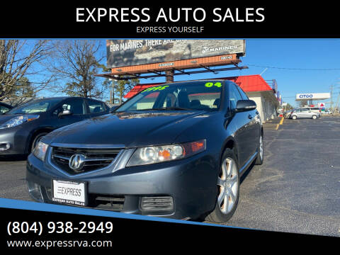 2004 Acura TSX for sale at EXPRESS AUTO SALES in Midlothian VA