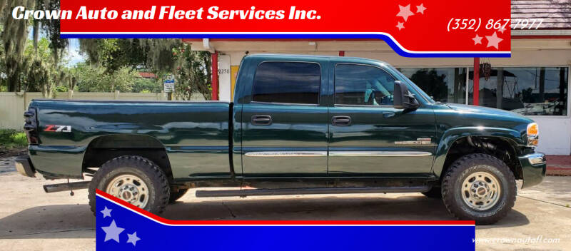 2004 GMC Sierra 2500HD for sale at Crown Auto and Fleet Services Inc. in Ocala FL