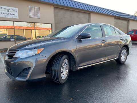 2012 Toyota Camry for sale at Exelon Auto Sales in Auburn WA