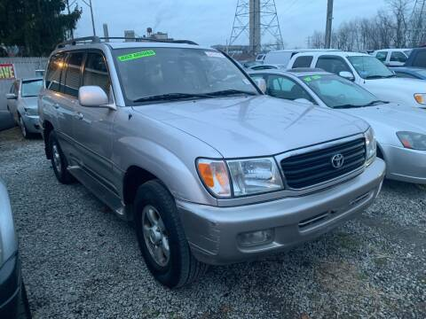 2000 Toyota Land Cruiser for sale at Trocci's Auto Sales in West Pittsburg PA