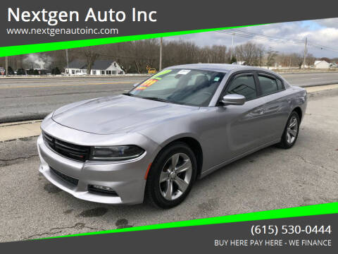 2015 Dodge Charger for sale at Nextgen Auto Inc in Smithville TN