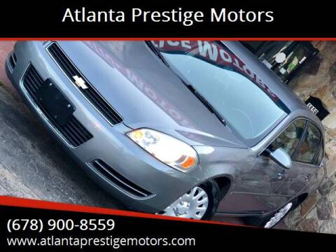2006 Chevrolet Impala for sale at Atlanta Prestige Motors in Decatur GA