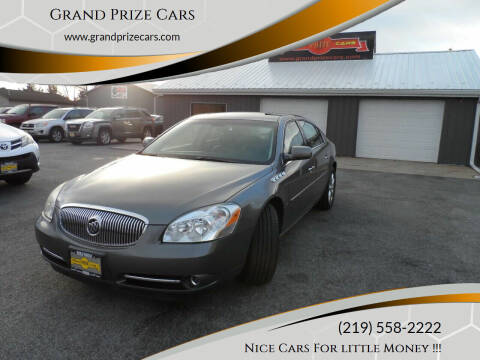 2007 Buick Lucerne for sale at Grand Prize Cars in Cedar Lake IN