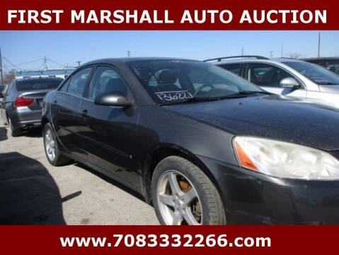 2007 Pontiac G6 for sale at First Marshall Auto Auction in Harvey IL