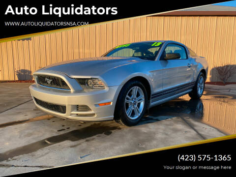 2013 Ford Mustang for sale at Auto Liquidators in Bluff City TN