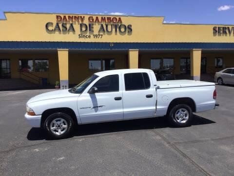 2001 Dodge Dakota for sale at CASA DE AUTOS, INC in Las Cruces NM