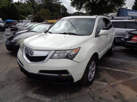2013 Acura MDX for sale at Wheels and Deals 2 in Atlanta GA