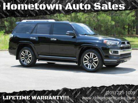 2018 Toyota 4Runner for sale at Hometown Auto Sales - SUVS in Jasper AL