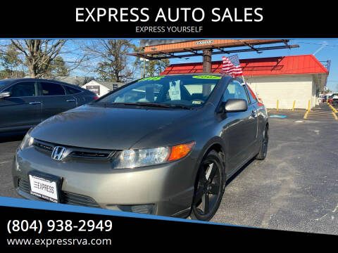 2007 Honda Civic for sale at EXPRESS AUTO SALES in Midlothian VA