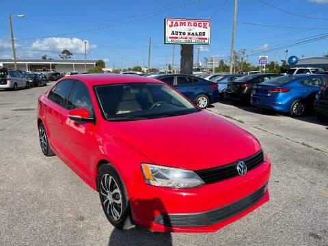 2011 Volkswagen Jetta for sale at Jamrock Auto Sales of Panama City in Panama City FL