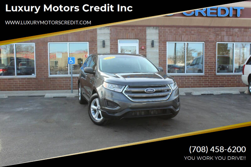 2017 Ford Edge for sale at Luxury Motors Credit Inc in Bridgeview IL