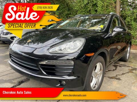 2011 Porsche Cayenne for sale at Cherokee Auto Sales in Acworth GA