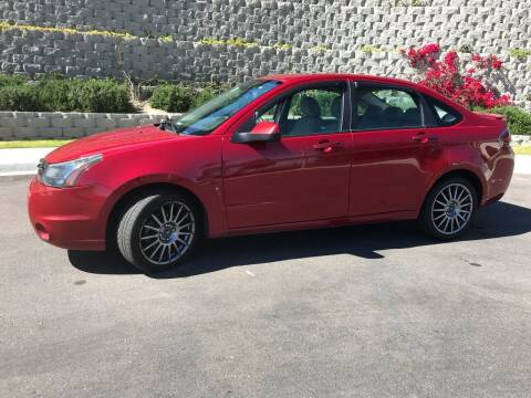 2011 Ford Focus for sale at CALIFORNIA AUTO GROUP in San Diego CA