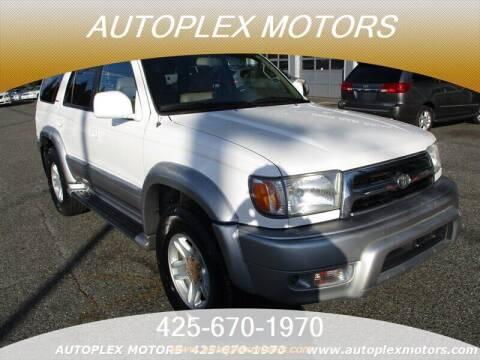 2000 Toyota 4Runner for sale at Autoplex Motors in Lynnwood WA