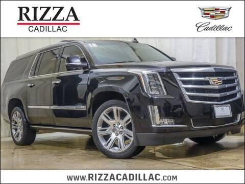 2018 Cadillac Escalade ESV for sale at Rizza Buick GMC Cadillac in Tinley Park IL