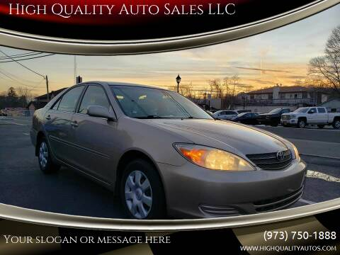 2003 Toyota Camry for sale at High Quality Auto Sales LLC in Bloomingdale NJ
