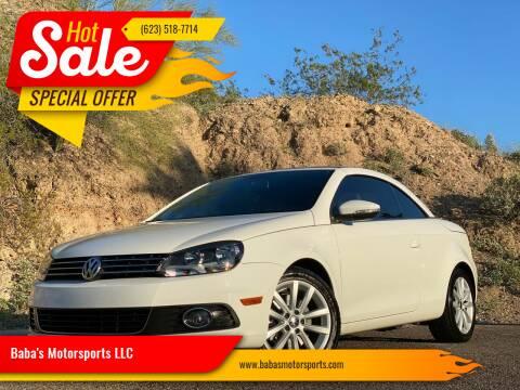 2012 Volkswagen Eos for sale at Baba's Motorsports, LLC in Phoenix AZ