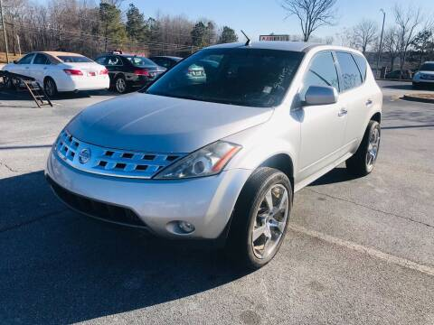 2004 Nissan Murano for sale at Atlanta Motor Sales in Loganville GA