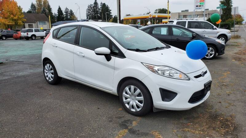 2012 Ford Fiesta for sale at Good Guys Used Cars Llc in East Olympia WA