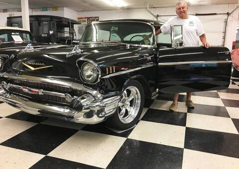 1957 Chevrolet Bel Air for sale at AB Classics in Malone NY