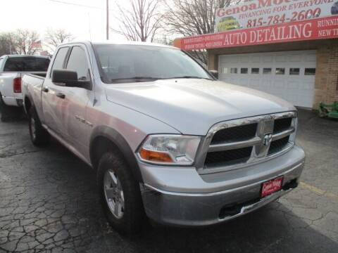2009 Dodge Ram Pickup 1500 for sale at GENOA MOTORS INC in Genoa IL