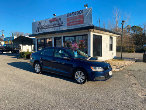 2012 Volkswagen Jetta for sale at Mechanicsville Auto Sales in Mechanicsville VA