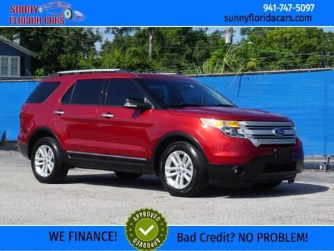 2014 Ford Explorer for sale at Sunny Florida Cars in Bradenton FL