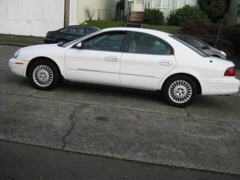 2002 Mercury Sable for sale at UNIVERSITY MOTORSPORTS in Seattle WA