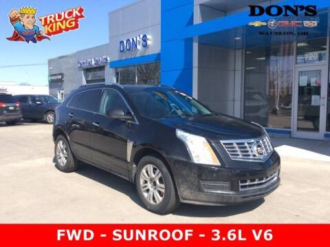 2015 Cadillac SRX for sale at DON'S CHEVY, BUICK-GMC & CADILLAC in Wauseon OH