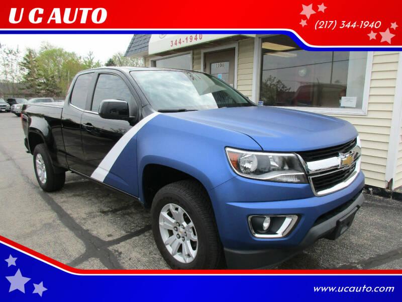 2015 Chevrolet Colorado for sale at U C AUTO in Urbana IL