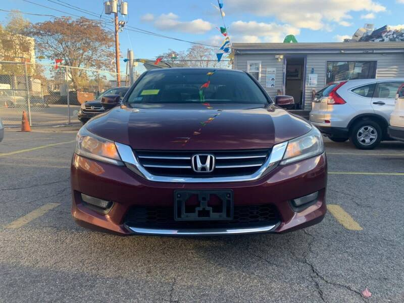2014 Honda Accord for sale at Metro Auto Sales in Lawrence MA