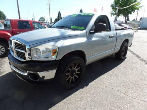 2008 Dodge Ram Pickup 1500 for sale at Gold Key Motors in Centralia WA