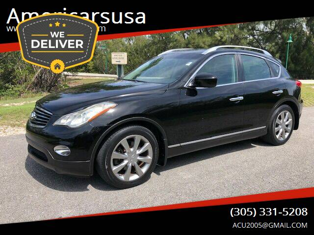 2011 Infiniti EX35 for sale at Americarsusa in Hollywood FL
