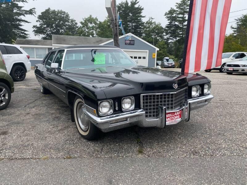 1971 Cadillac Fleetwood D'Elegance for sale at Brilliant Motors in Topsham ME