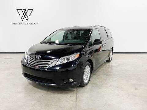 2016 Toyota Sienna for sale at Wida Motor Group in Bolingbrook IL