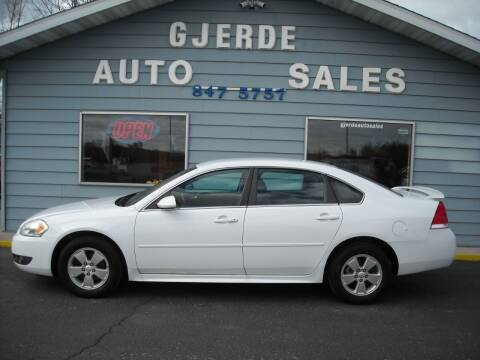 2011 Chevrolet Impala for sale at GJERDE AUTO SALES in Detroit Lakes MN